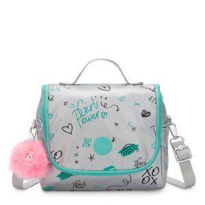 Kipling Kichirou Metallic Lunch Bag NWT
